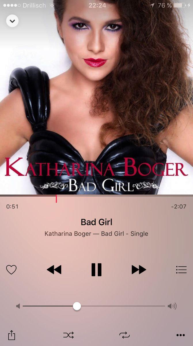 "Katharina Boger: ""Bad Girl"""