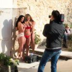 TV: Sissi Fahrenschon, Laura Kaiser und Jessica Ashley im Shooting