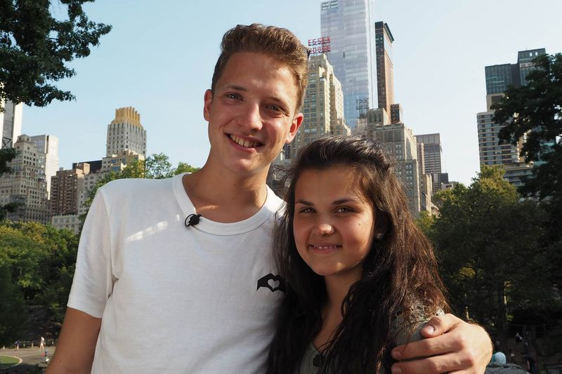 Philipp (19) und Louisa (18)