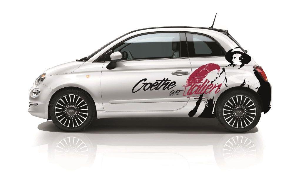 """""""Goethe liebt Italien"""" - im Fiat 500 auf den Spuren des großen Dichters"""