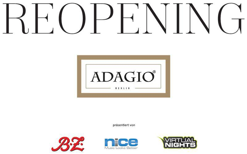 Adagio ReOpening