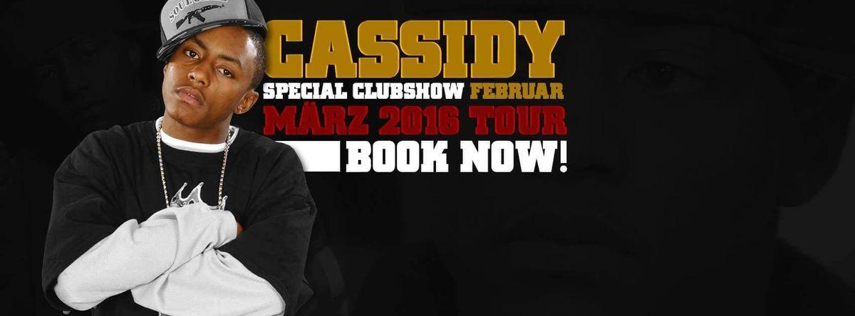 "US Rapper ""Cassidy"" auf Clubtour in Europa"