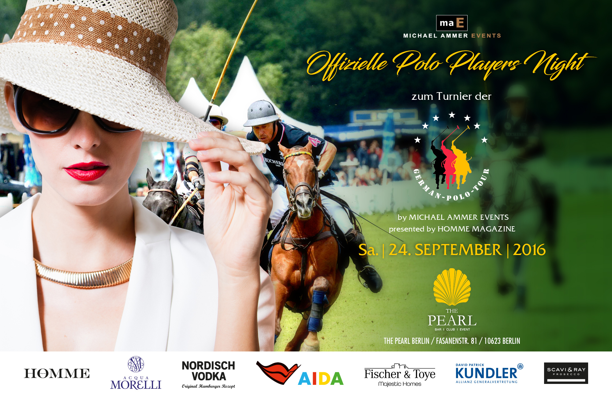 """Offizielle Polo Players Night im """"The Pearl"""""""