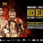 Akkreditierung Marco Huck: VIP-Programm und After-Show-Party