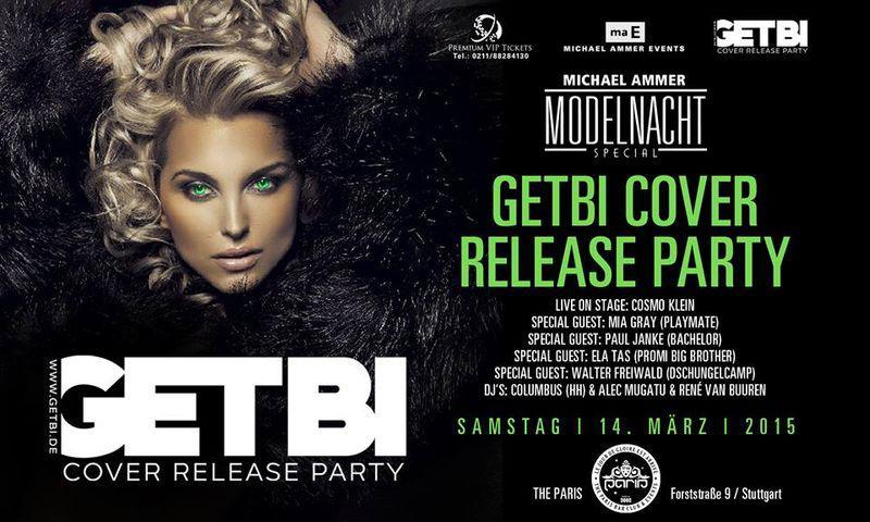 GETBI Cover Release-Party Stuttgart