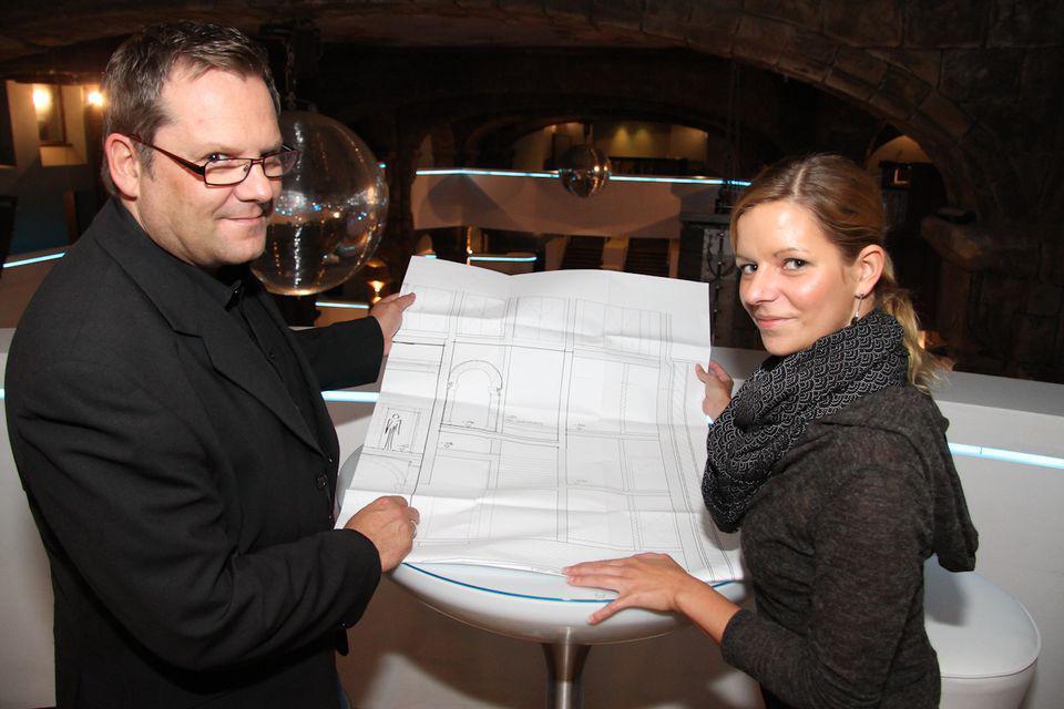 Marcel Siegenthaler mit Assistentin Nina Handke