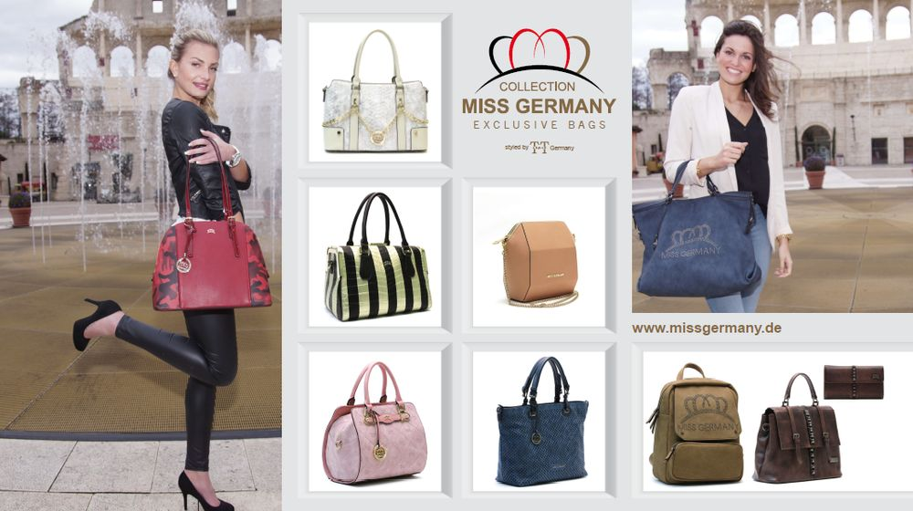 """Miss Germany Exclusive Bags"" der ""Collection Miss Germany"""