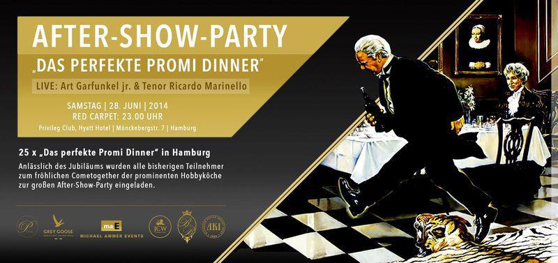 """Das perfekte Promi Dinner"": After-Show-Party in Hamburg"