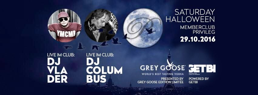 Offizielle Grey Goose Halloween-Party