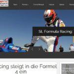 Motorsport: SL Formula Racing mit neuem Internetauftritt unter slformularacing.com