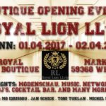 """Royal Lion LLvip"" lädt zum Boutique-Opening"