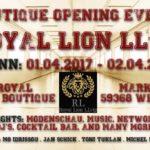 """""""Royal Lion LLvip"""" lädt zum Boutique-Opening"""