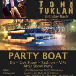 Toni Tuklan: VIP Party-Boat 2017