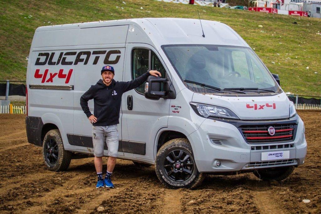 Tony Cairoli, Fiat Professional Ducato 4x4 Show-Fahrzeug