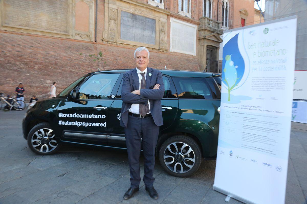 Erdgas und Biogas Konferenz in Bologna
