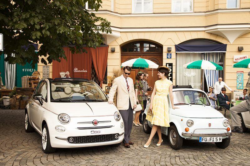 Der Wiener Platz in den 1960er Jahren: Fiat 500 auf Zeitreise in München