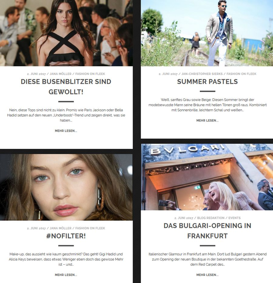 Fashion On Fleek: Neue Blog-Rubrik im Shots Magazin