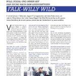 Falk-Willy Wild im Riller & Schnauck Magazin