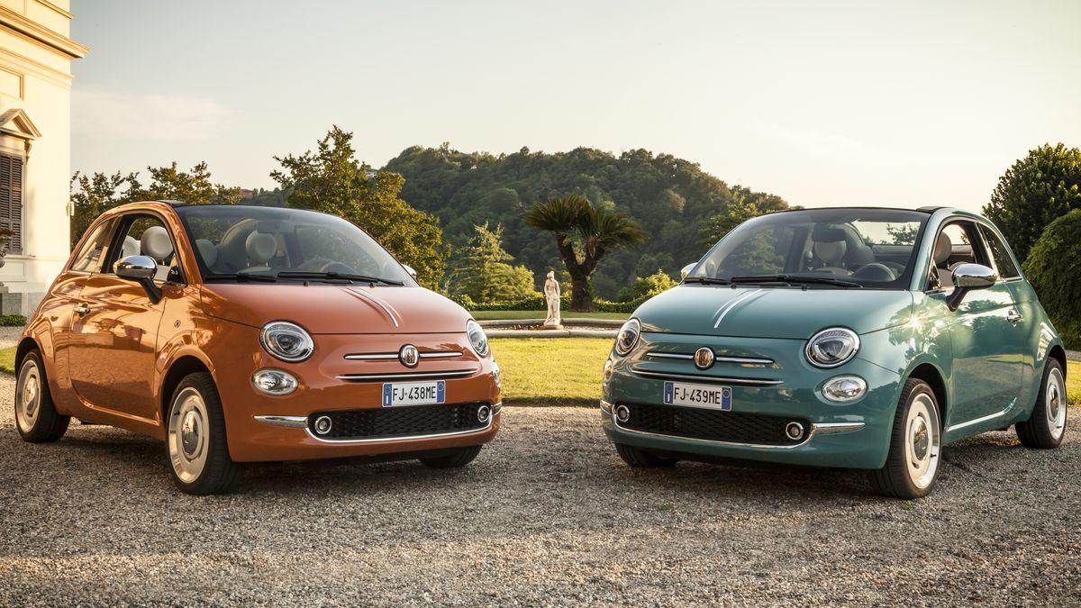 Besonderes Angebot zum 60. Geburtstag - Fiat 500 Anniversario mit Null-Prozent-Finanzierung