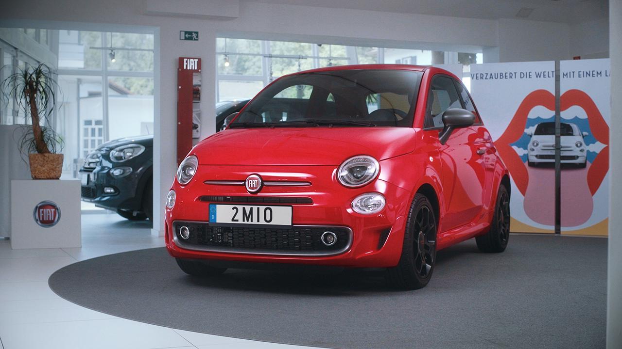 Jubiläumsmodell geht nach Deutschland - zweimillionster Fiat 500 ausgeliefert
