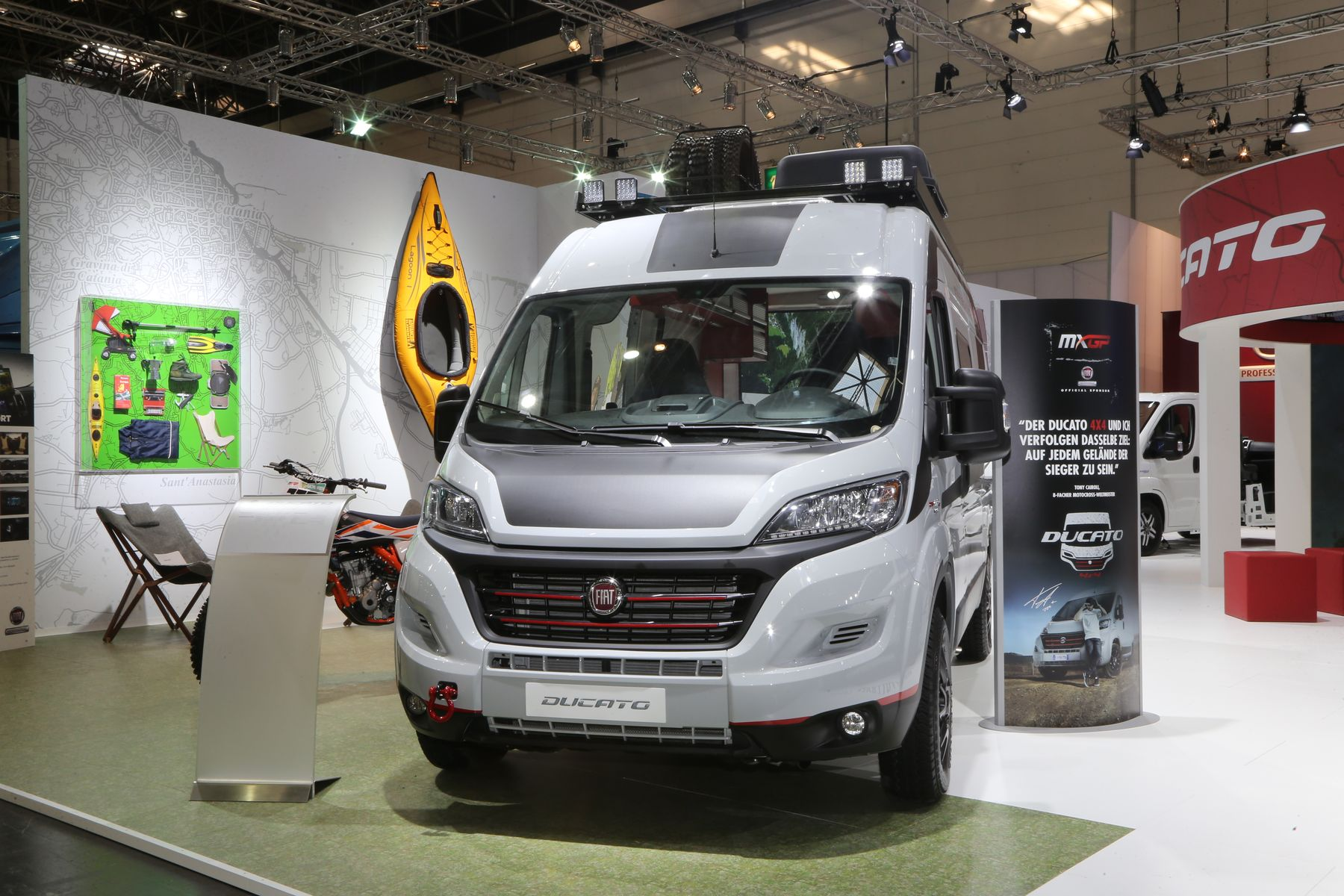 Fiat Professional, Caravan Salon 2017, Düsseldorf