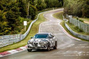 Alfa Romeo Stelvio Quadrifoglio fährt Rekord auf der Nürburgring-Nordschleife