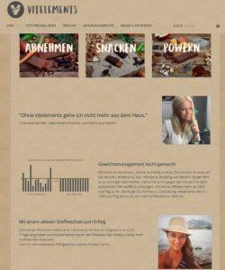 Online-Shop: vitelements.com