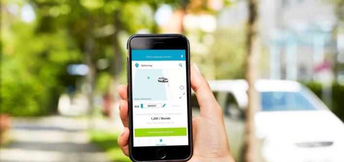 Mit dem digitalen Parkservice ParkNow kann Geld und Zeit gespart werden