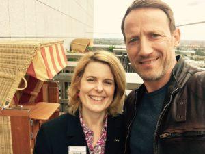Tatort - Dunkle Zeit: Tanja Rühmann, Wotan Wilke Möhring