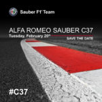 Save The Date: Alfa Romeo Sauber C37