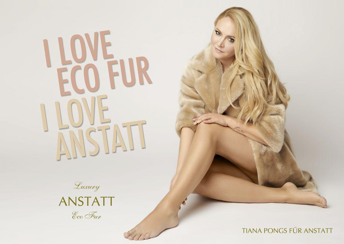 Topmodel Tiana Pongs für ANSTATT