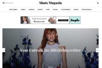 Relaunch für Shots: Blog frisch gestylt