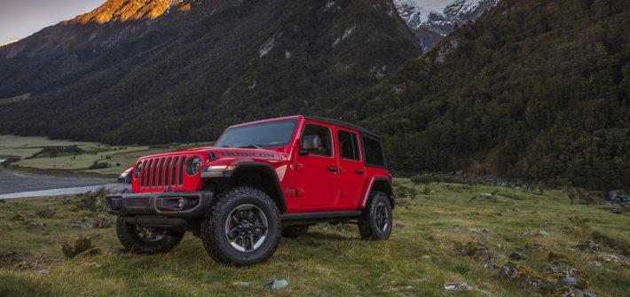 Ein ganz besonderes Camp Jeep® mit dem neuen Jeep Wrangler als Ehrengast