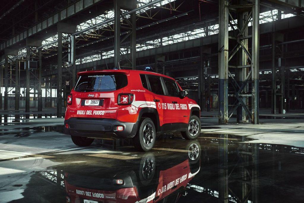 Jeep® Renegade im Feuerwehr-Einsatz