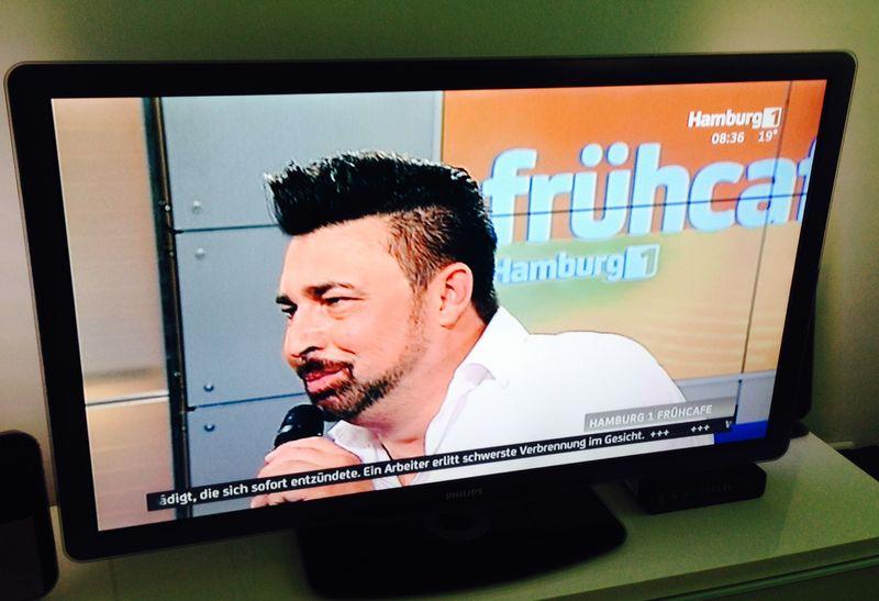 Anthony Bauer Jr. live im TV bei Hamburg 1