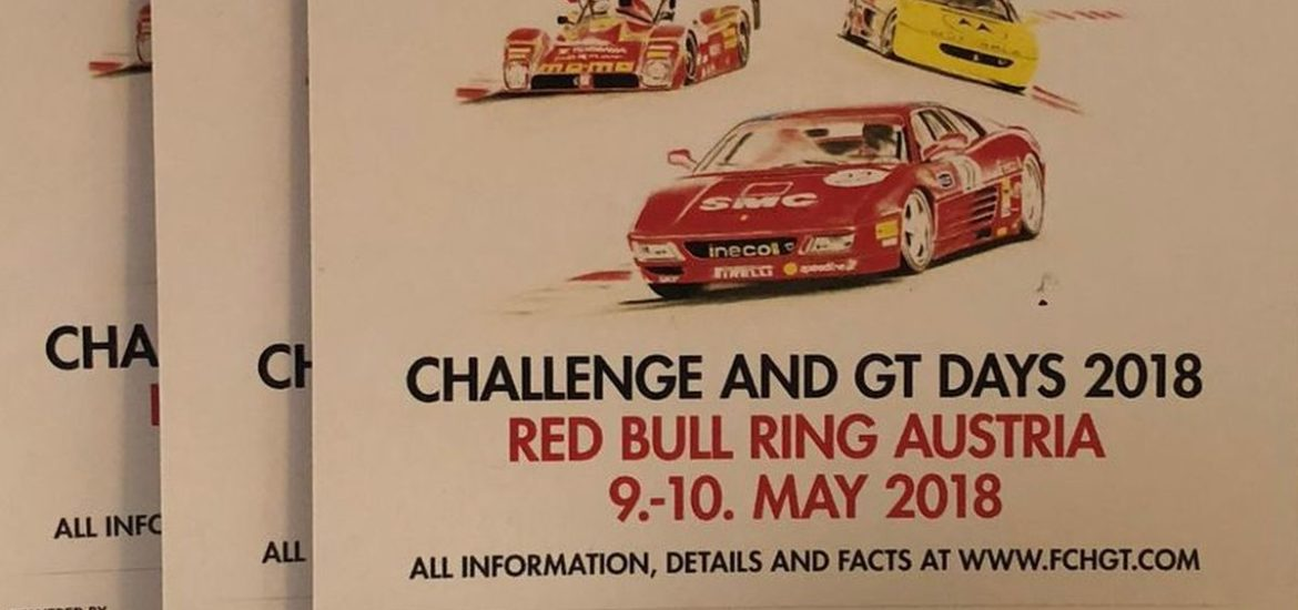 Challenge and GT Days 2018 mit Ferrari