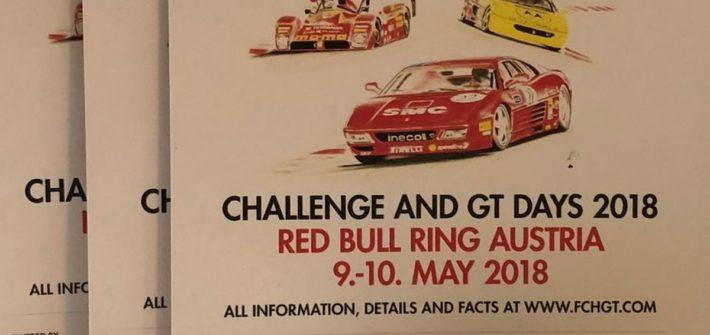 Challenge and GT Days 2018 mit Ferrari