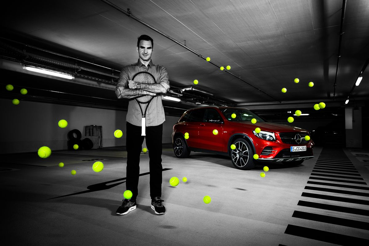 Roger Federer bleibt Mercedes-Markenbotschafter