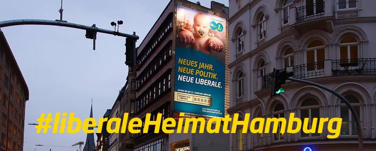 Bürgerschaftswahl 2015: Wahlparty der Neuen Liberalen in Hamburg