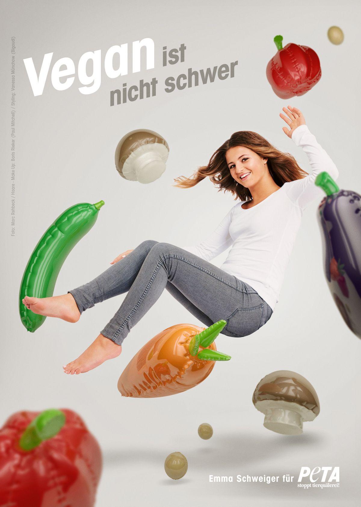 Emma Schweiger für PETA