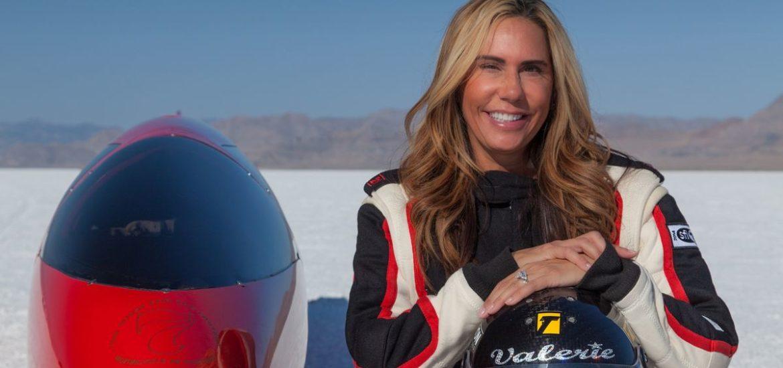 Valerie Thompson peilt neuen Geschwindigkeitsrekord an