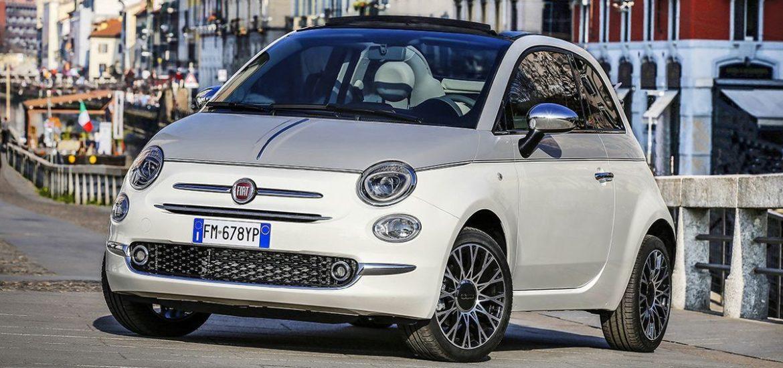 Star des Laufstegs – der neue Fiat 500 Collezione ist in Europas Metropolen zu sehen