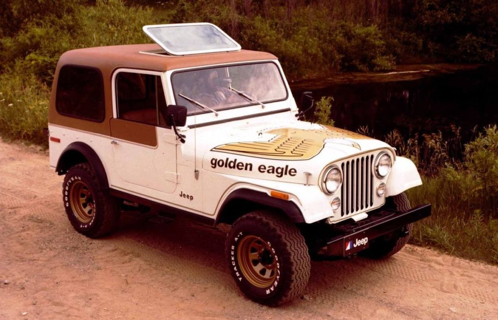 Jeep CJ-7 'Golden Eagle' (1977)