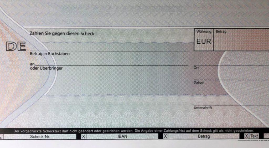 PR Scheck: Übergabe kann losgehen...