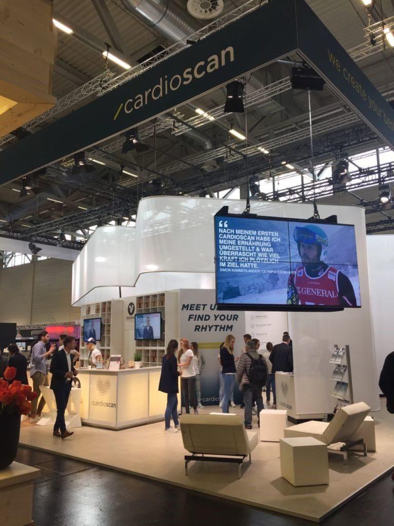 FIBO 2018: Impressionen vom cardioscan-Stand