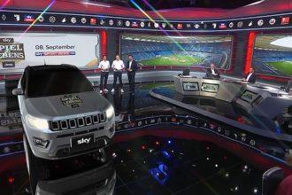 Erstmals in Europa: Jeep Compass debütiert als Augmented Reality bei Sky Media