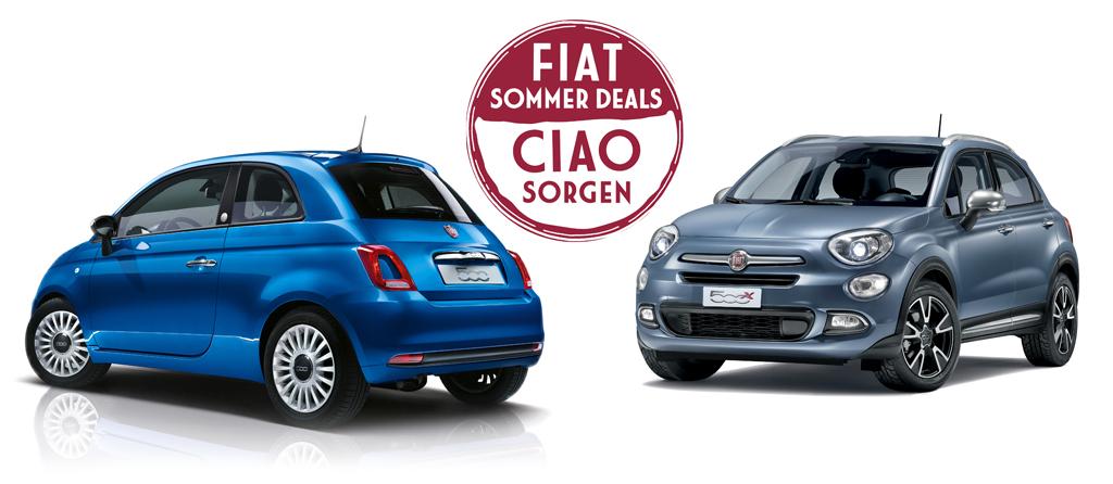 """Fiat startet """"SOMMER DEALS"""""""