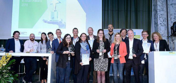 E-Mail-Award 2018: Gold für Ex Libris und Focus