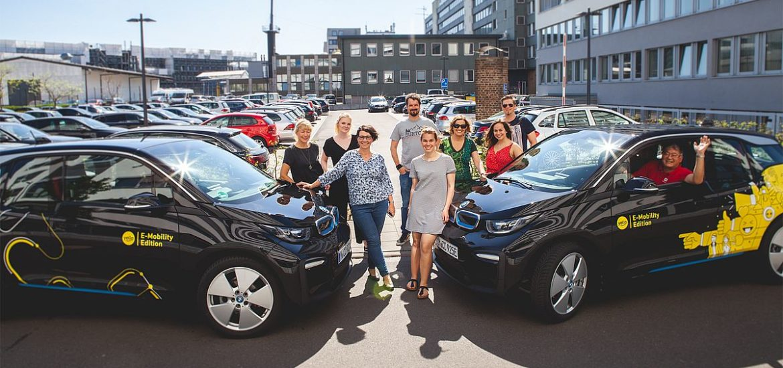 Yello: BMW i3 an Kunden übergeben