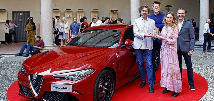"Alfa Romeo Giulia gewinnt Designpreis ""Compasso d'Oro"""